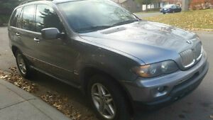 2004 BMW X5 4.4l sports package,  grey SUV, Crossover