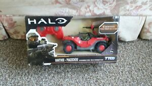Halo Action Figures with two Remote Control vehicles
