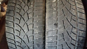 2 WINTER TIRES  265/35/20