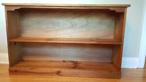 Custom made solid pine bookcase/TV stand/Entrance Hall table