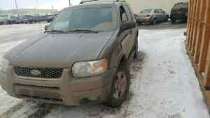 04 ford escape 253km awd