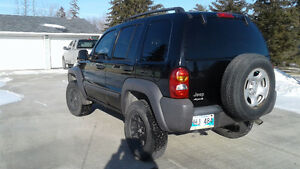 2003 Jeep Liberty Sport LIFTED!! Saftied
