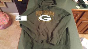 Green Bay Packers Adult sz Large Hoodie