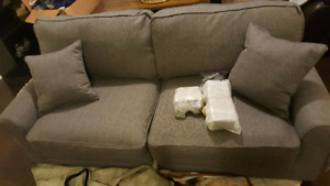 "new partially assembled Buxton 73"" Rolled Arm Sofa"