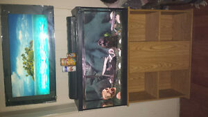 33gal Fishtank with 55gal filter + Accessories