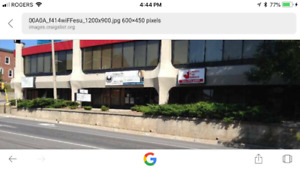Renovated office spaces downtown Belleville