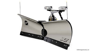 "Fisher PLOW SNOW EXTREME-V 8'6"" XV2 SS STAINLESS FISHER FORD MOU"