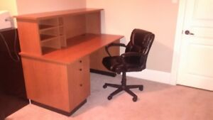 Quality Office Desk and Chair