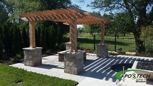 Postech Screw Pile Footings For Decks, Additions, Sunrooms! Windsor Region Ontario image 8