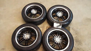 205 55r16  -16 inch aftermarket rims with 205 55 r16 tires