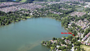 Richmond Hill Lake Wilcox Waterfront House, $1800+$2400=$3600!!
