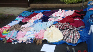 Girls clothes size 10-12, 8 and 6 at yard sale Sun May 27th