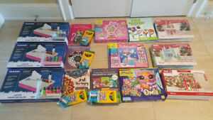 Coloring Books, Art/Craft Kits, Manicure Salon