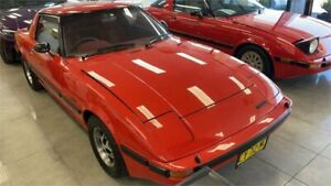 1981 Mazda RX7 SA22C (S2) Red 3 Speed Automatic Coupe