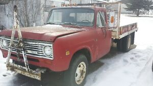 1972 International with winch and hoist