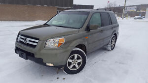 2007 Honda Pilot EX-L AWD DVD LEATHER 8 PASSENGER SUV, Crossover