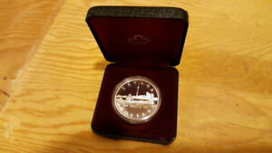 1984 Canadian Proof Silver Dollar Coin
