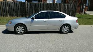 2005 Subaru Legacy 2.5i silver