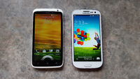 HTC One X and Samsung S3