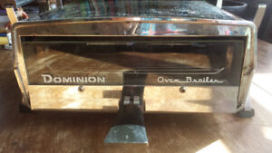 Vintage 60's Chrome Toaster Oven/ Broiler - Mint Condition
