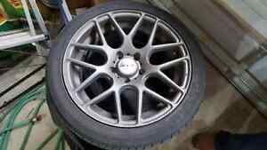 RTX Envy Rims: 215/45/R17  Cambridge Kitchener Area image 1