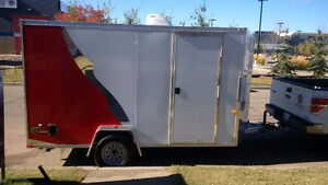 2015 NEO NAVF Enclosed 12 X 7' Trailer (Factory Ordered)