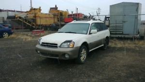2001 Subaru Outback Part Out