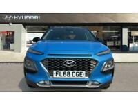 2018 Hyundai Kona 1.0T GDi Blue Drive Premium 5dr Petrol Hatchback Hatchback Pet