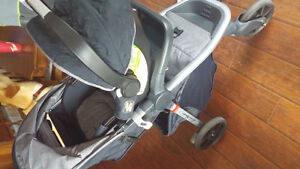 Stroller and car seat with base!