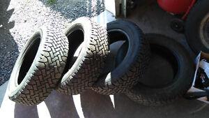 4 pneus d'hiver 195 60 R15