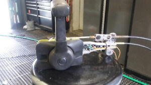 Mercury, Mariner Concealed throttle Control with cables