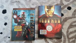Iron Man and iron Man 2 DVDS asking 10 bucks for both