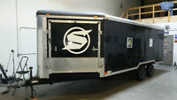 2009 Atlas Enclosed trailer 22ft