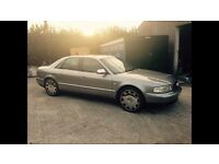 """AUDI A8 3.7 Quattro With 19"""" Bentley chromed"""