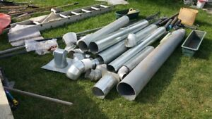 MOVING: Sheet metal pipe for heating and ventilation  (75% off)