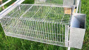 Heavy duty rabbit cages