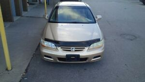2002 Honda Accord se Coupe (2 door) e tested and certified