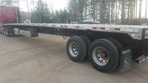 53' Great Dane Flat Bed Trailer Cambridge Kitchener Area image 1