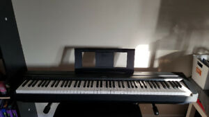 (It was sold) electric piano yamaha p-45 keyboard
