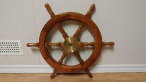 24 Inch Ships Wheel