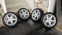 4 Mags Ford 17'' - Bolt Pattern 4 * 108