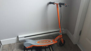 A Razor Electric scooter