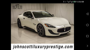 2014 Maserati Gran Turismo mc Coupe (2 door)