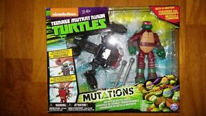 Teenage Mutant Ninja Turtles TMNT Raphael Ground Pounder Battle