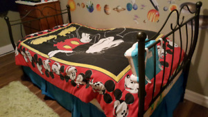 Twin Bed with mattress and box spring