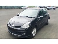 2006 56 Renault Clio Dynamique 1.5 dCi Diesel 5 door Black £30 TAX not fiesta golf polo