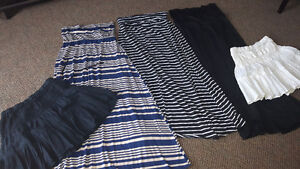Lot of women's maxi skirts (floor length) and several dresses