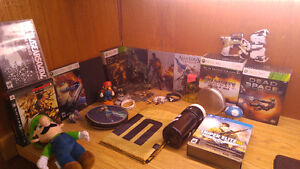 Assortment of video game collectibles