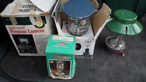 4 Propane Lanterns $30 Each or $100 for All 4
