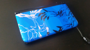 console 3ds pokemon bleu